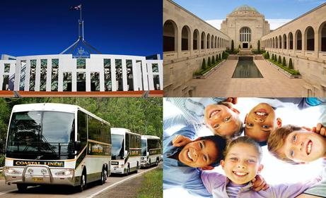 Coastal Liner Coaches   Canberra excursions